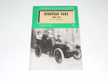 EUROPEAN CARS 1886-1914 . Veteran & Vintage Series (Nicholson 1963)